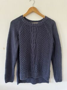 Fat Face 100% Cottom Knitted Jumper Size 16