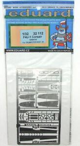 EDP32112 - * Eduard Photoetch 1:32 - F4U-1 Exterior (Trumpeter)