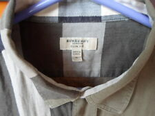 Burberry Mens Button Down Shirts Large