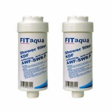 2 X Shower Filter Showerfilter for Against Limestone, FITaqua Scale