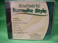 Michael Combs #1 ~ Christian ~ Karaoke Style ~ Daywind ~~ Almighty God ~~ CD+G