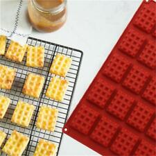 Silicone Waffle Mould Mold Maker Baking Cookie Pan Cake Bakeware Waffle Tray LG