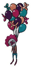 Randy Otter Last Laugh Dead Clown Choked by Balloons Iron On Patch Hat Vest New