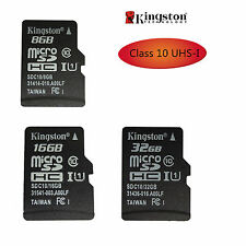 Kingston 8GB 16GB 32GB Micro SD TF Memory Card SDHC UHS-I C10 for Phone Tablet