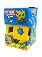 PLAYSKOOL Vintage Form Fitter Shape Texture Toy 1997 NEW