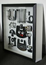 More details for handmade in the uk with reclaimed materials. delonghi espresso coffee machine.
