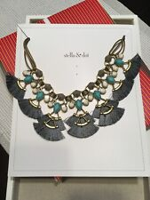 Lotus Tassel Necklace stella and dot