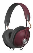 New Panasonic - RP-HTX80BE-R - Bluetooth   Wireless Headphones - Red