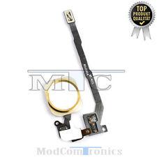 iPhone 5S HOMEBUTTON Gold Flex Kabel ID Touch Sensor Taste Home Button NEU134