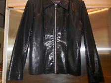 Authentic GUESS Vintage Genuine Leather Rock Star Jacket Fitted Sleek / Chic Med