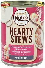 Nutro - Hearty Stews Senior Canned Dog Food Grandpa's Country Stew with Chicken