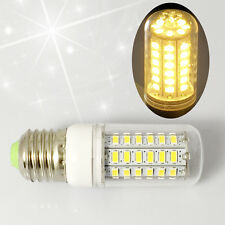 SMD 5730 E27 56pcs  Base LED Corn Bulb Lights Lamp Energy Saving Warm White 110V