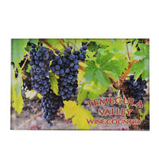 Silverfever Fridge Magnet Collectible Souvenir Gift Magnets Wine Grapes Temecula