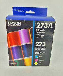 Epson 273XL High Capacity Claria Premium 5 Ink Cartridges Expired 05/2019