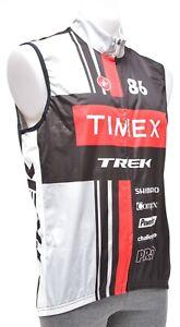 Castelli Timex Trek Multisport Team Wind Vest Men XL Black MTB Tri Bike Shimano