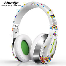 Bluedio A Fashionable Wireless Bluetooth Headphones with Microphone Twistable 3D