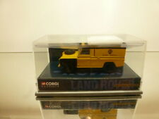 CORGI LAND ROVER - AA ROAD SERVICE - YELLOW 1:43 - VERY GOOD CONDITION IN BOX