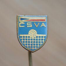 Czechoslovakia Volleyball Association CSVA Vintage Pin Badge