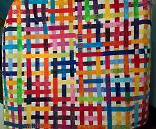 Rainbow Interweave Art Quilt
