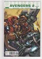 Ultimate Avengers 2 #2 Mark Millar Lenil Yu Hawkeye Captain America 9.2