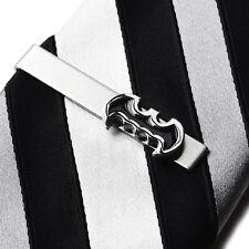 Batman Tie Clip - Tie Bar - Tie Clasp - Business Gift - Handmade - Gift Box