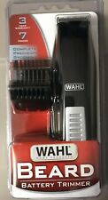 "New WAHL Battery Beard 7-Pieces Trim/Trimmer Kit ""Travel Size"" Loc#EB63"