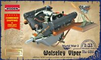 Roden 626 - 1/32 - Engine Wolseley W4A Viper for airplanes WWI plastic model kit
