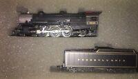 Rivarossi N Scale Heavy Pacific 4-6-2 Steam Loco & Tender PA #0003-05601J