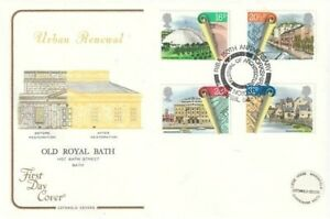 10 APRIL 1984 URBAN RENEWAL COTSWOLD FIRST DAY COVER SCARCE FEST OF ARCHIECTURE
