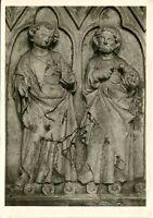 Alte Kunstpostkarte - Johannes der Täufer und Johannes der Evangelist