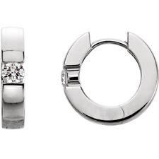 Diamond Hinged Earrings In Platinum (1/4 ct. tw.)