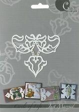 """Prägeschablone / Embossing-Folder - """" Fleur de Lis - Just Married """"  von AVEC"""