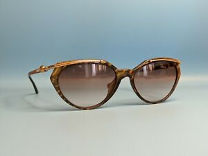 VINTAGE PALOMA PICASSO OPTYL 3746 MULTICOLOR SUNGLASSES MADE GERMANY 58/17 #809