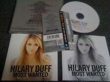 Hilary Duff / most wanted /JAPAN LTD CD OBI