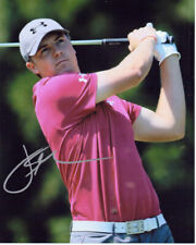 Jordan Spieth Autographed 8x10 Photo Professional Golf Player COA TTM