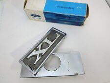1970 Ford Galaxie XL  500 trunk key hole lock cover emblem logo symbol badge