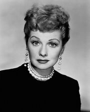 TV Fillm Actress LUCILLE BALL Glossy 8x10 Photo 'I Love Lucy' Print Poster