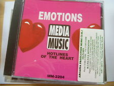 EMOTIONS HOTLINES OF THE HEART RARE LIBRARY MUSIC QUALITY CHECKED CD