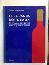 LES GRANDS BORDEAUX 1996 FRANCK DOUBOURDIEU VINS SPIRITUEUX
