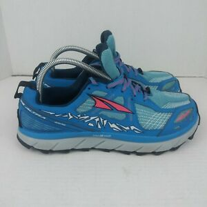 Altra Lone Peak 3.5 AFW1755F-3 Shoes Trail Running Women's Size 10 Blue