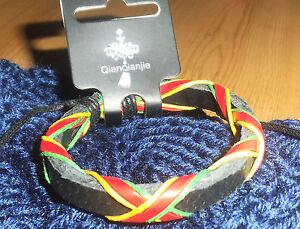 men women girls boys leather surf surfer  bracelet  wristband