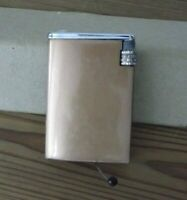 "Lighter Silver match encendedor vintage gas no recargable mechero ""60"