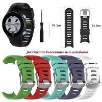 Rubber Watchband for Garmin Forerunner 610 Smart Wrist Band Watch Strap Bracelet