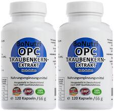 Traubenkernextrakt OPC Hochdosiert SPARPACK 475 mg/Tag 240 Kapseln vegan