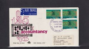 Australia 1972, Royal 10th International Congress of Accountants FDC