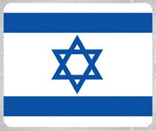 "Blanket Fleece Throw National Flag Israel 50""x60"" NEW with protective sleeve"
