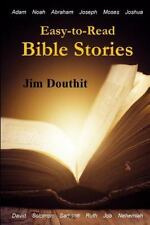 Easy-To-Read Bible Stories by Jim Douthit (2016, Paperback, Large Type)