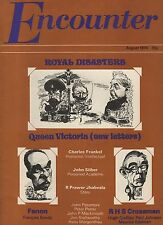 ENCOUNTER MAGAZINE (August 1974) R.PRAWER JHABVALA-NEW QUEEN VICTORIA LETTERS