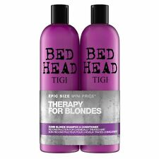 TIGI - Bed Head - Colour Combat Dumb Blonde Shampoo & Conditioner Tween x 750ml