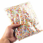 Mini Assorted Colors Polystyrene Styrofoam Filler Foam Beads Balls Crafts RF